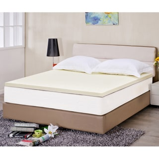 Ventilated 2-inch Memory Foam Mattress Topper