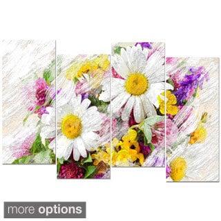 Design Art 'Wild Flowers Bouquet' Canvas Art Print