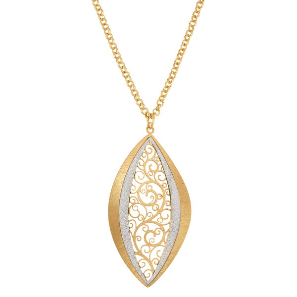 Facet Nation - Tree-of-Life Circle Pendant Necklace