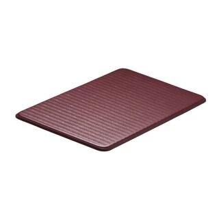 Imprint Cumulus9 Ruby Wine Chevron Series 20 x 36-inch Comfort Mat