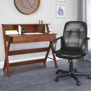 CorLiving Folio 2-piecc Desk and Office Chair Set