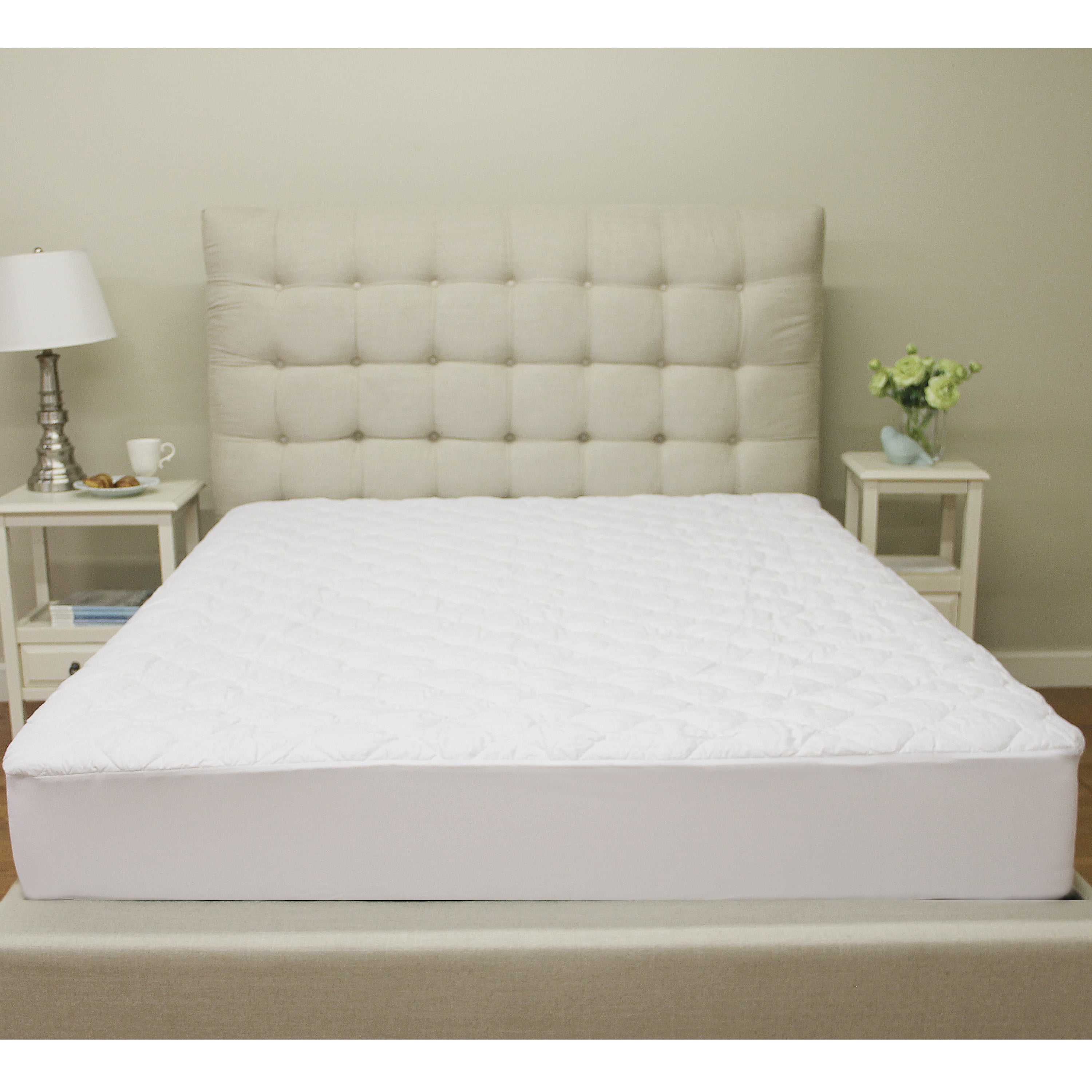 Overstock.com Renew and Revive Aspen Quilted Waterproof Mattress Protector