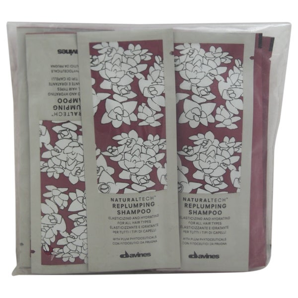 Davines Naturaltech .40-ounce Replumping Shampoo Sachet Kit (Pack of 12)