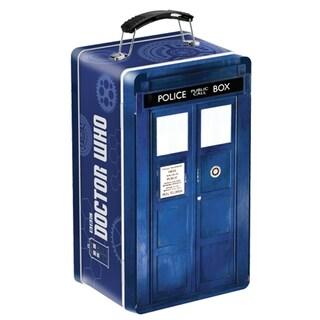 Doctor Who Tardis Tin Tote Retro Lunch Box