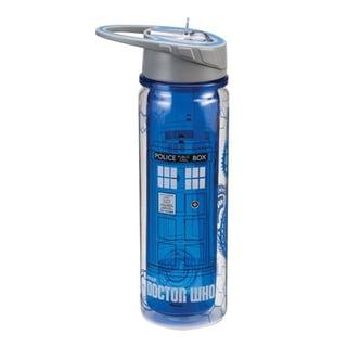 Doctor Who Tardis Tritan Acrylic 18-ounce Water Bottle
