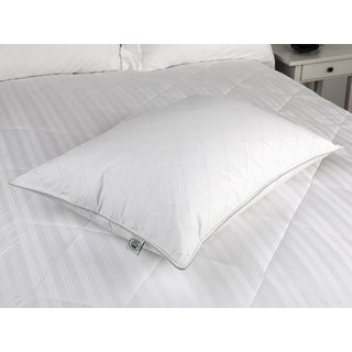 Laura Ashley 233 Thread Count Quilted Feather and Down Pillow