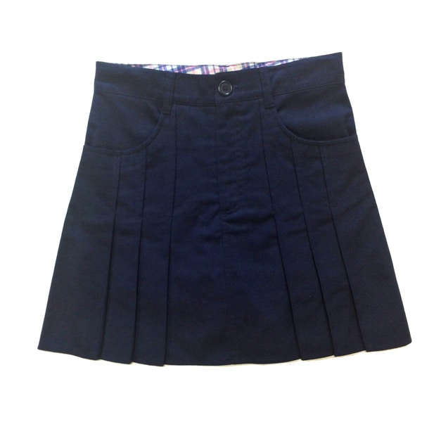 Pintuck Front Scooter Skirt