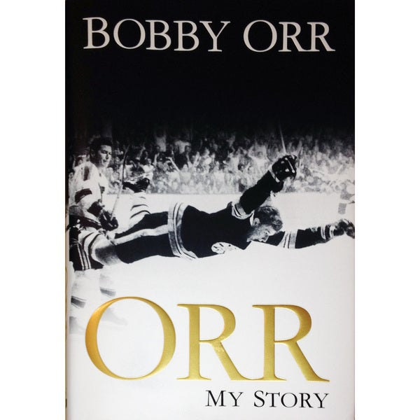 NHL Boston Bruins Bobby Orr 'My Story' Book