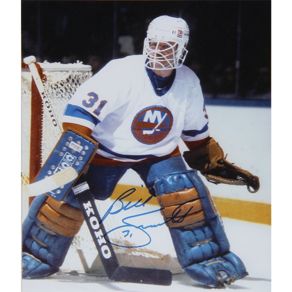 NHL New York Islanders Billy Smith Autographed 8x10 Photograph