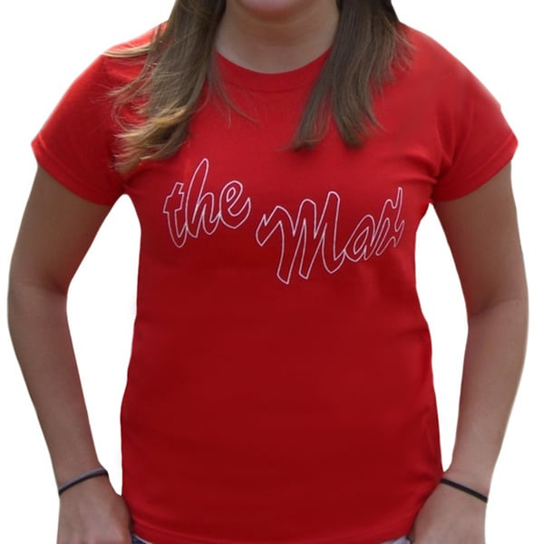 Women's Red Saved by the Bell The Max Restaurant T-shirt