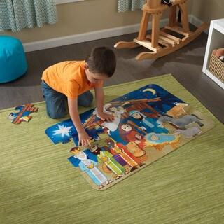 KidKraft Nativity Floor Puzzle