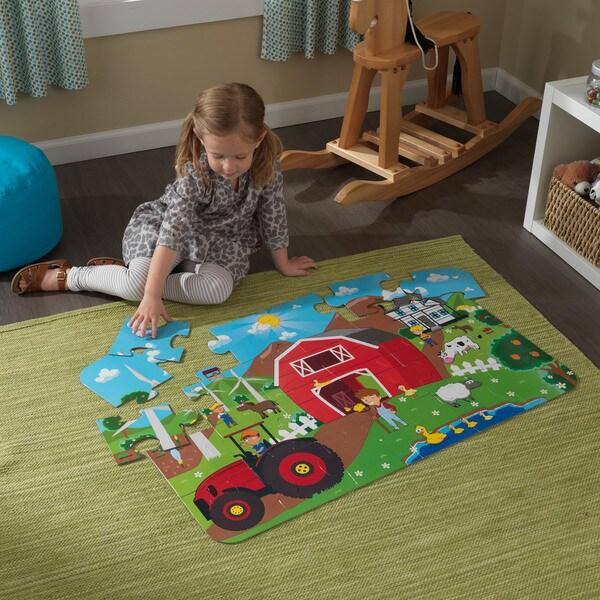 KidKraft Farm Floor Puzzle