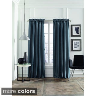 Steve Madden Faux Silk Lined Curtain Panel Pair