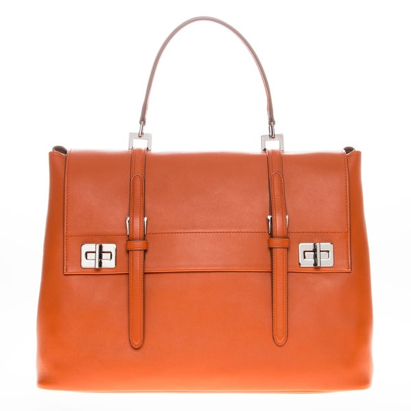 Prada Saffiano Calf Leather Satchel