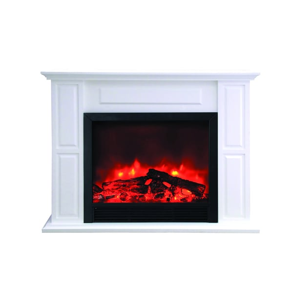 Yosemite Home Decor Free Standing Electric Fireplace