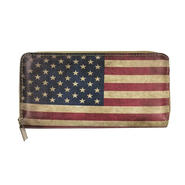 Independence Day Zip-around Wallet