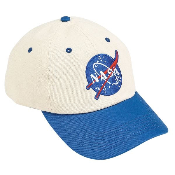 Child's Blue And White NASA Astronaut Hat