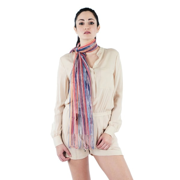Missoni Sheer Stripe Scarf