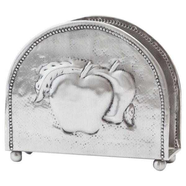 Antique Embossed Apple Napkin Holder