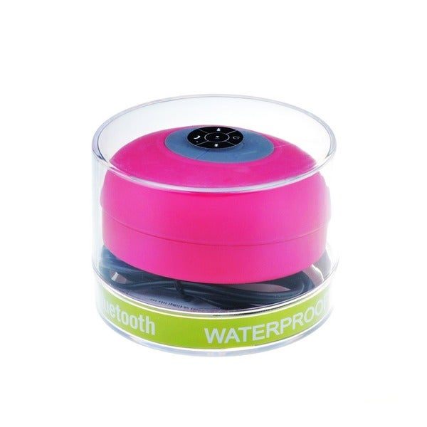 Patuoxun Waterproof Bluetooth Wireless Mini Speaker with Suction Cup and Mic