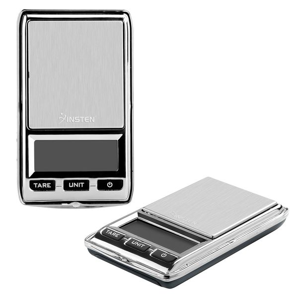 Insten Grey 0.01 - 500g Digital Pocket Scale with Leather Bag