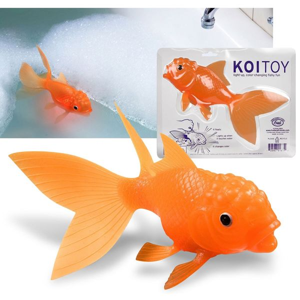 Fred Light Up Goldfish Bath Toy Buddy