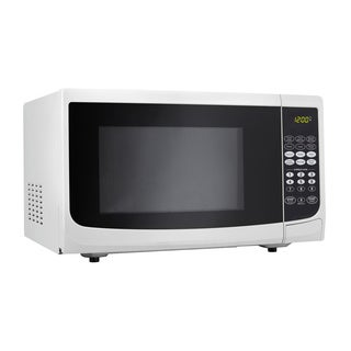Danby 1.1 cubic foot Countertop Microwave Oven with 1,000 Watts White