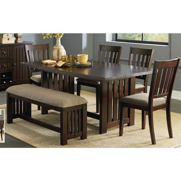 Kennedy Bruno Brown Dining Table