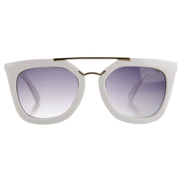 Crummy Bunny Little Girls' Gold Bar Sunglasses