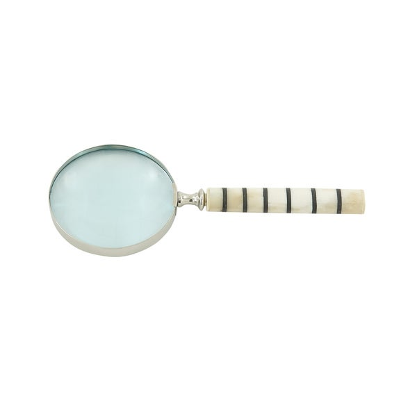 Bone Inlay Magnifying Glass