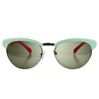 Crummy Bunny Little Girls' Green/ Pink Fashion Polarized Sunglasses