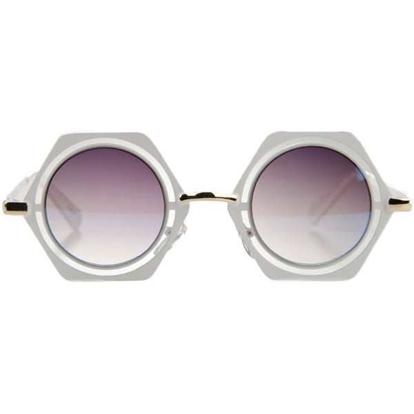 Crummy Bunny Little Girls' Round Sunglasses