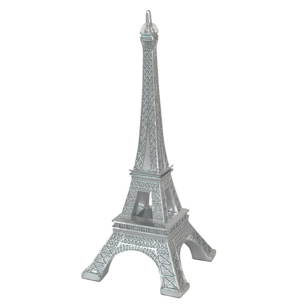Silver Resin Eiffel Tower