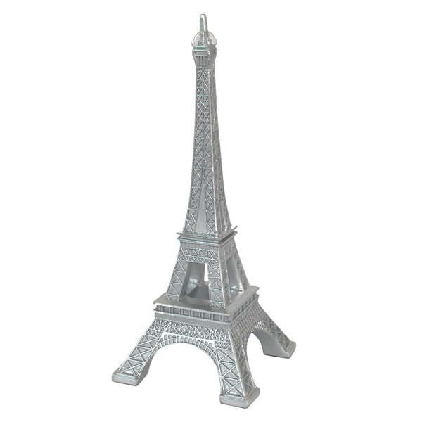 Silver Resin Eiffel Tower 15591876