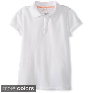 Eddie Bauer Girls' Stretch Polo Top