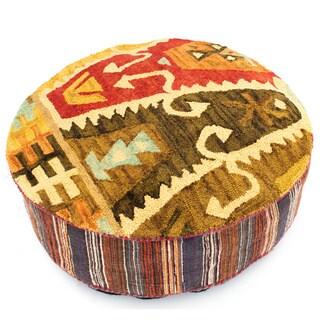 Berry Creek Wool Floor Cushion