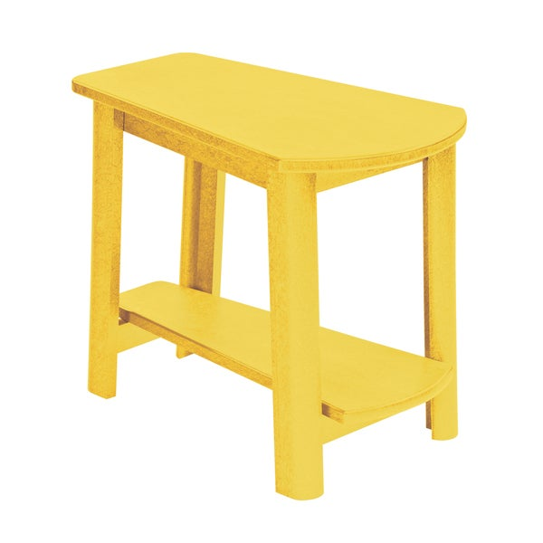 Generations Yellow Tapered Style Accent Table
