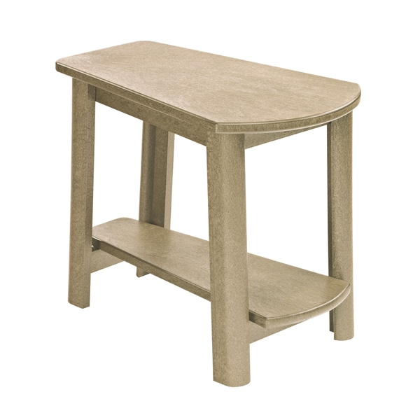 Generations Beige Tapered Style Accent Table
