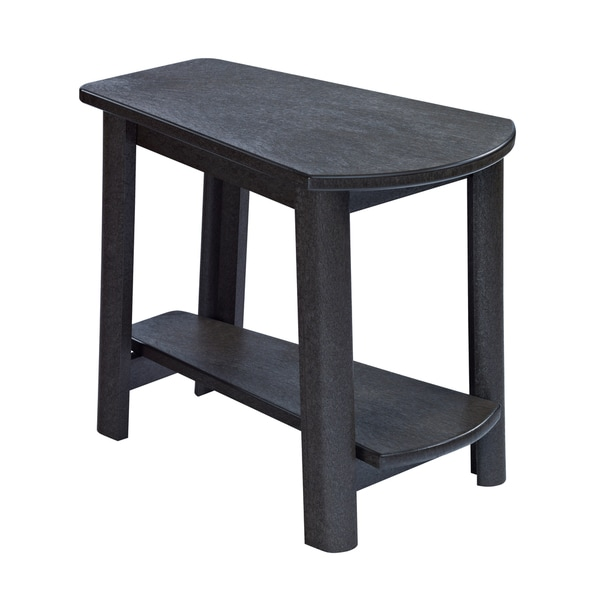 Generations Black Tapered Style Accent Table