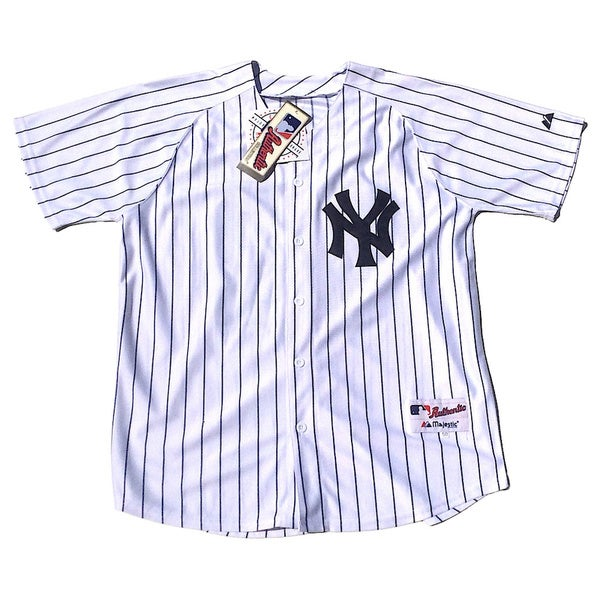 New York Yankees #42 Mariano Rivera Stitched White MLB Jersey