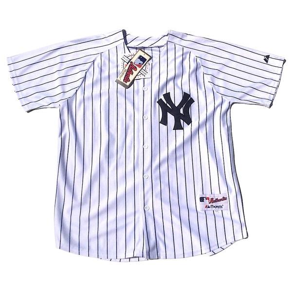 New York Yankees #42 Mariano Rivera Stitched White MLB Jersey