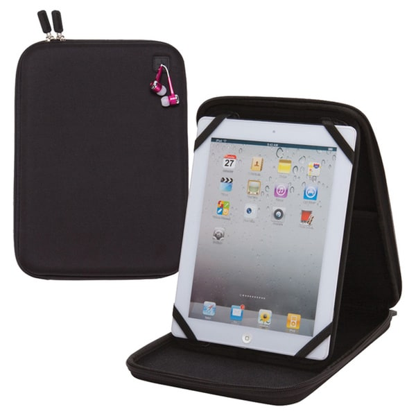 Goodhope Black Molded EVA Universal 10-inch Tablet/ eReader Case