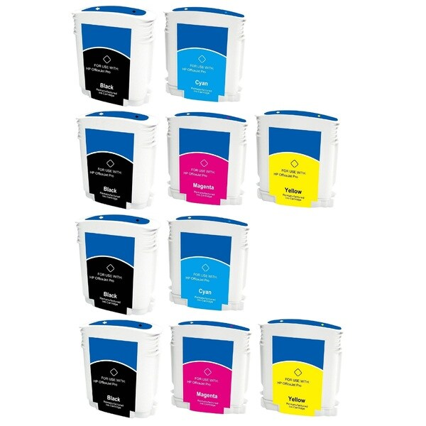 LED HP 88 88XL C9396AN C9391AN C9392AN C9393AN Black Cyan Magenta Yellow Ink Cartridge (Pack of 10)