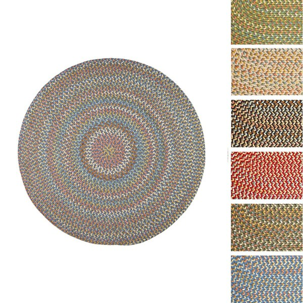 Cozy Cove Indoor Outdoor Braided Rug 10 x 10 by Rhody