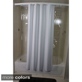 Side Peek 72 x 72 Shower Curtain