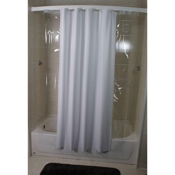 Side Peek 72 x 72 Shower Curtain