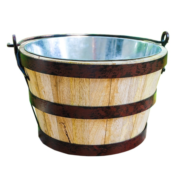 BREKX Backcountry Wooden Beverage Bucket