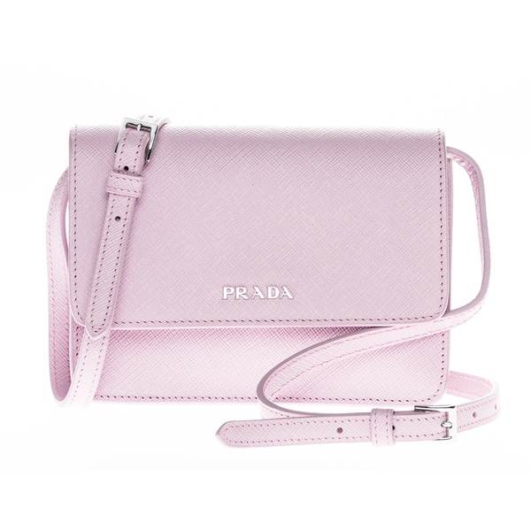 Prada Mini Saffiano Leather Shoulder Bag - 17361110 - Overstock ...