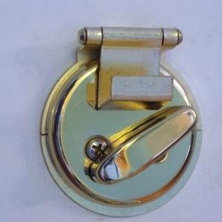Dead Bolt Secure- Brass