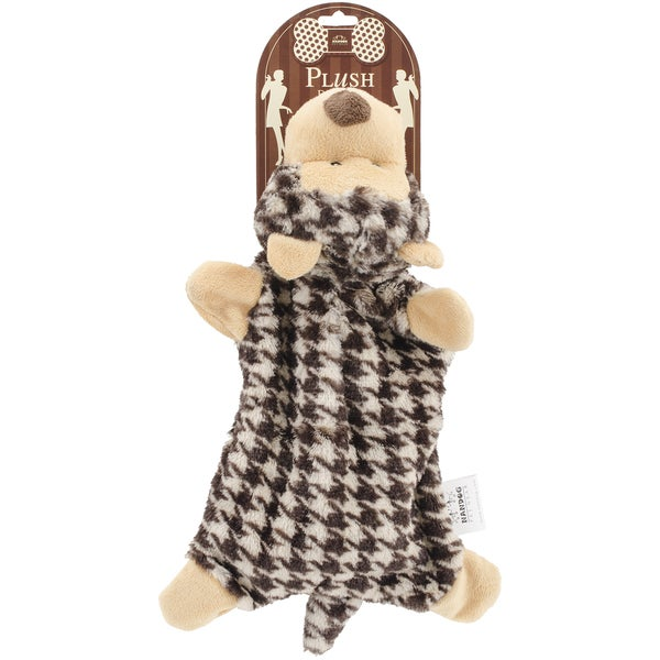 Nandog My BFF Houndstooth Plush Toy Brown Bear